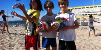 L'école de Beach-volley Enfants